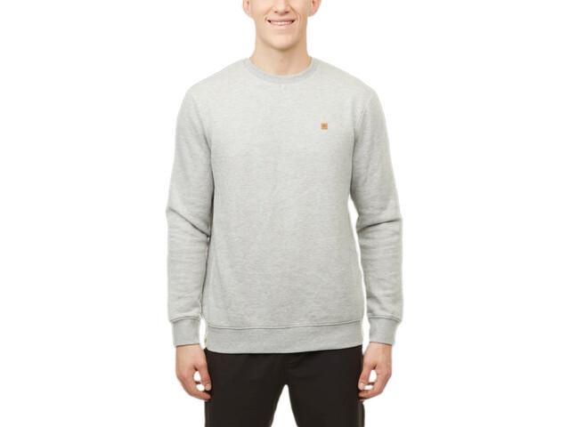 tentree TreeFleece Classic Crew Sweater Men, gris